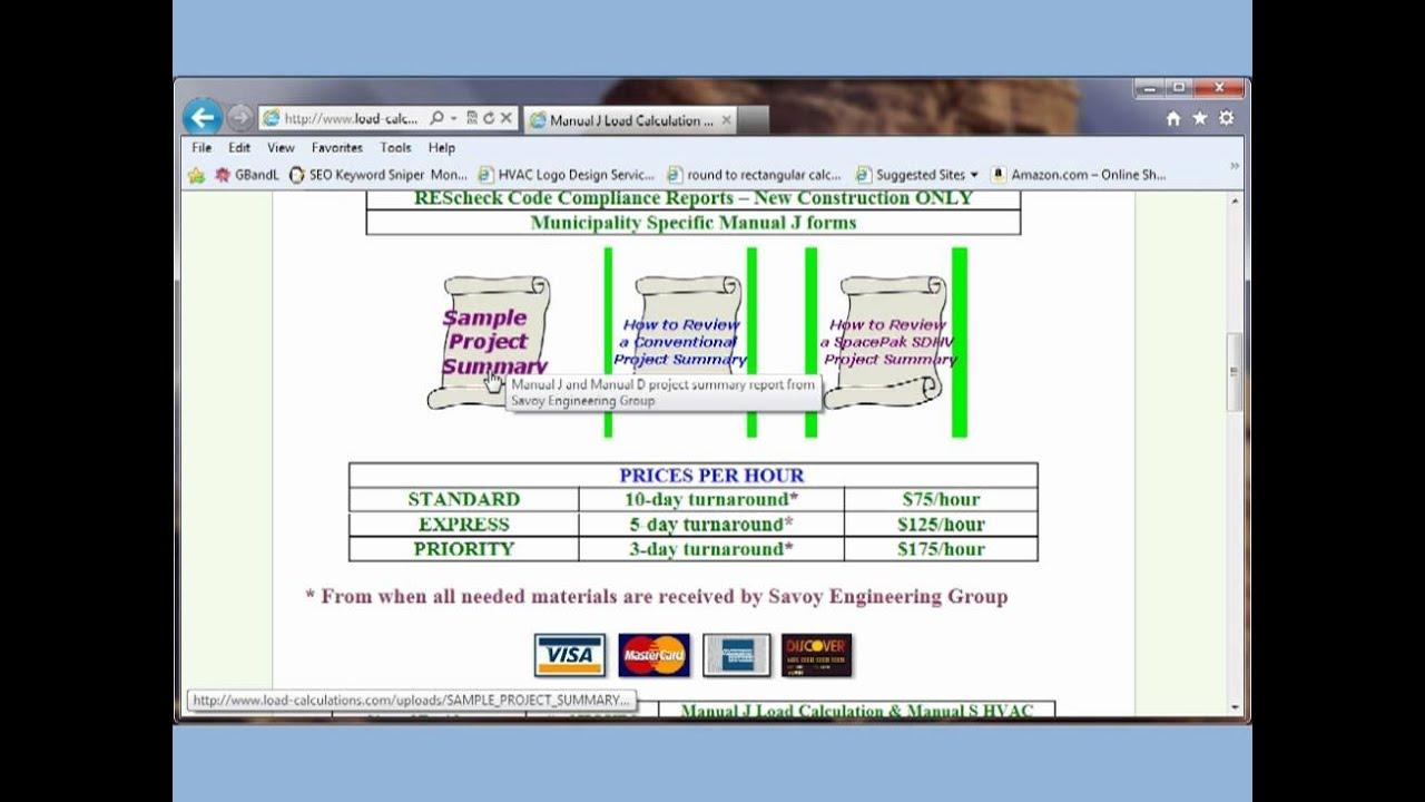 manual j and manual d hvac design service youtube rh youtube com manual j software acca certified manual j software reviews