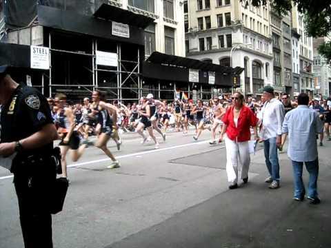 Gay Pride 2011 Gay Runners Club
