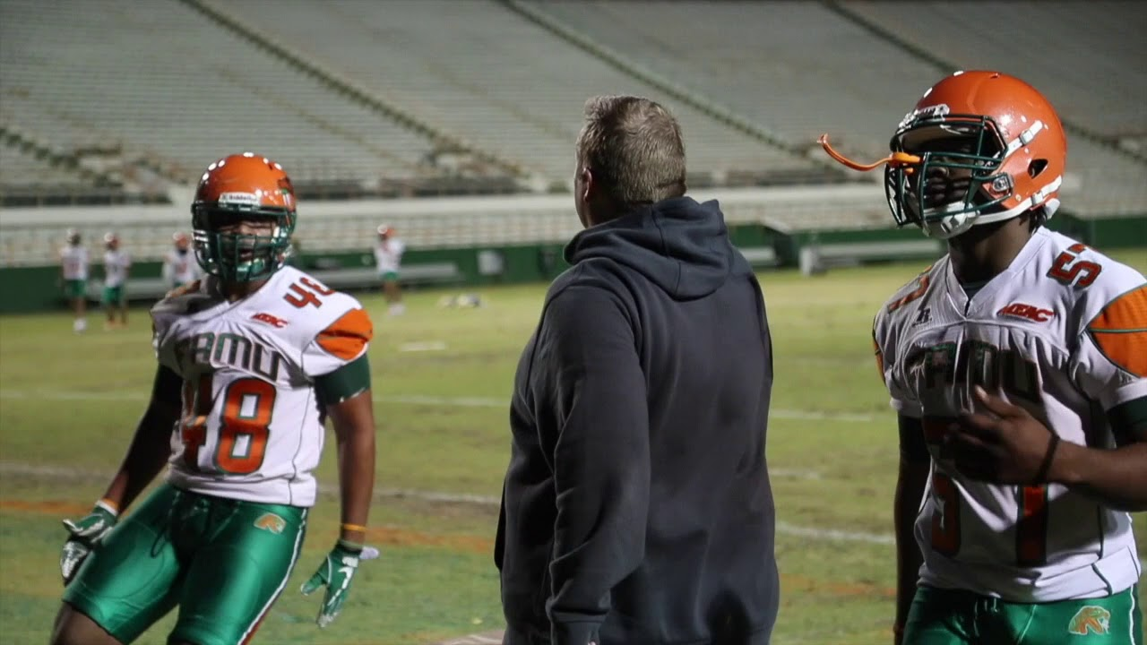 Famu First Day Of Spring Practice 2018 Youtube