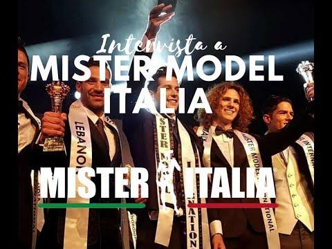 INTERVISTA TG VERONA MISTER MODEL ITALIA - MARCO D'ELIA