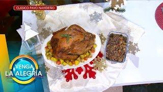¡Prepara el Clásico pavo navideño para tu cena y sorprende a todos! | Venga La Alegría