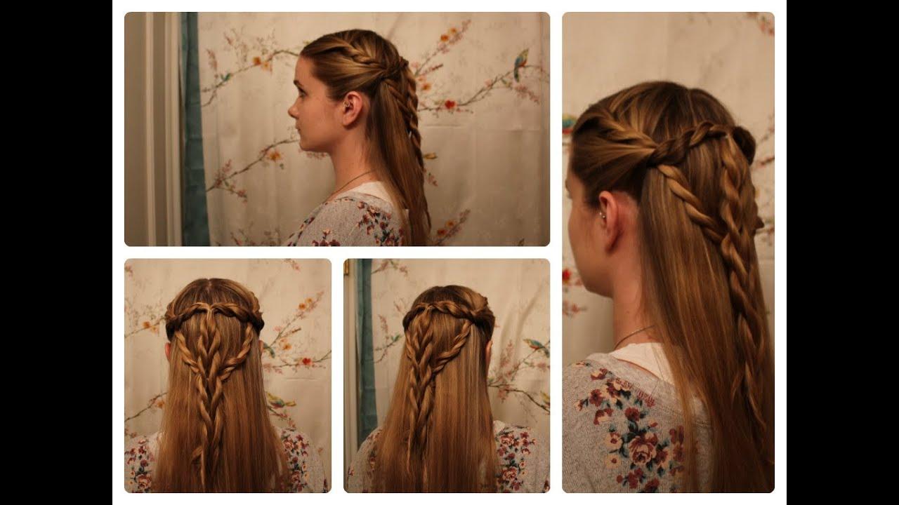 Game of Thrones Hair Sansa Stark Inspired Tyrell Twists  YouTube