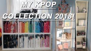 My Entire K-pop Album Collection 2018!!!