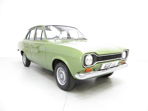 Collectors Mk1 Ford Escort 1300L, Genuine 11,464 Miles from New, and Supporting History - SOLD!