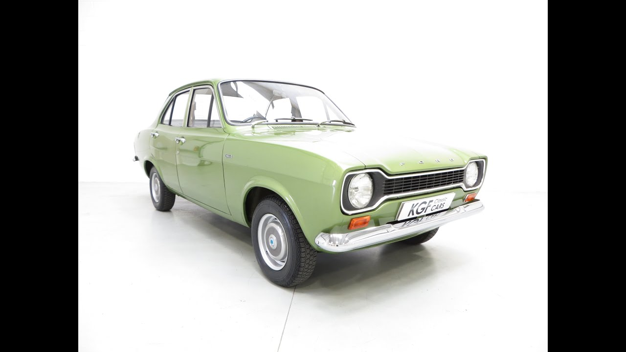Collectors Mk1 Ford Escort 1300L, Genuine 11,464 Miles from New ...