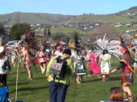 mexica new year at San Jose CA 2011 - YouTube