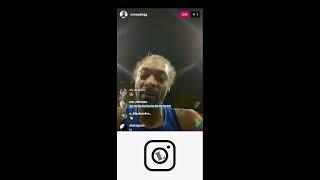 Snoop Dogg at basketball practice