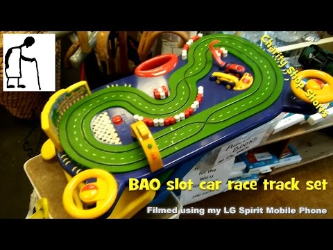 Charity Shop Short – BAO slot car race track set