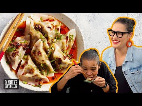 My latest DUMPLING OBSESSION... Chilli Oil Beef Dumplings | Marion's Kitchen