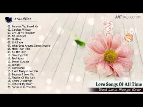 Nonstop love songs of all time   Greatest Hits English Love songs Collection