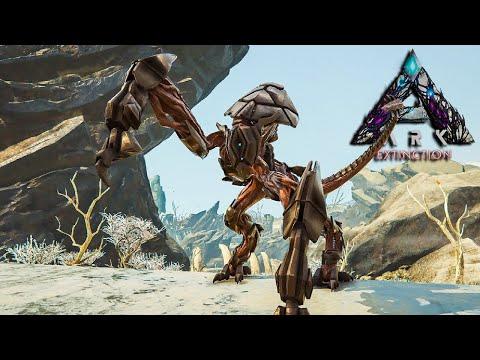 Ark Survival Evolved Extinction - EPIC ROBOSAURUS