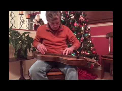 Playing a new Mountain Dulcimer