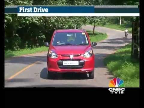 2012 Maruti Alto 800 in India first drive