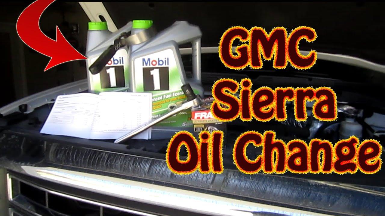 Diy Oil Change On A 2014 Gmc Sierra Pickup Chevy Silverado