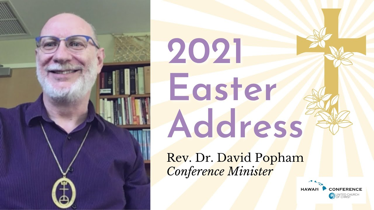 Conference Minister shares Easter greetings for 2021