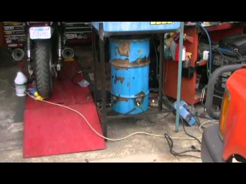 Homemade Heated Parts Washer