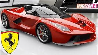 Forza Horizon 4 - FERRARI LAFERRARI - Customization, Top Speed Run, Review