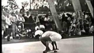 Girls at 1965 International Skateboard Championships