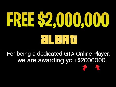 Rockstar Giving ALL Players $2,000,000 For FREE In GTA 5 Online! How To Get Your Money!