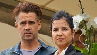 Colin Farrell & Claudine Farrel bij opening Homeless World Cup 2015 Amsterdam.