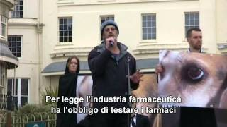 Save The Harlan Beagles - Brighton (uk), 09.03.2013 - Intervento Di Andre Menache