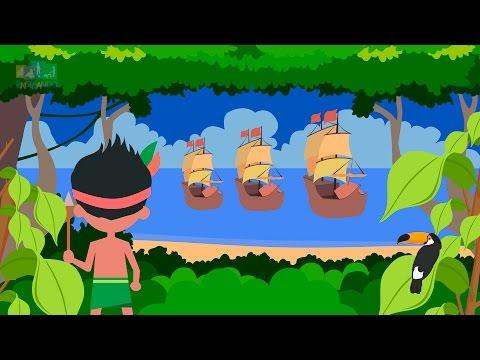 Descobrimento Do Brasil E Os Indios Animacao Infantil Educacao