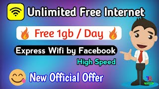 🔥How to use free Internet | express wifi by facebook | 1gb screenshot 1