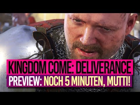 KINGDOM COME: DELIVERANCE 🎮 Preview 4: Dinge, die wir NOCH NICHT zeigen durften 😇