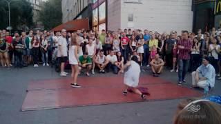 Танцевальные батлы Крещатика, Вечерний Киев часть 7 - Dance Battles Khreshchatyk, Kiev Evening part7