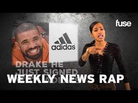Cardi B's New Single & Drake Signs With Adidas | Weekly News Rap