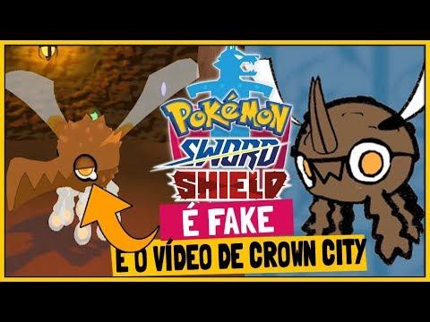 O Rumor Confirmado Como Fake E Crown City Pokemon Sword E Shield