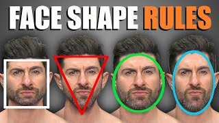 4 Face Shape Rules EVERY GUY SHOULD FOLLOW! (To Pick The BEST Haircut & Facial Hair for YOUR Face) screenshot 3