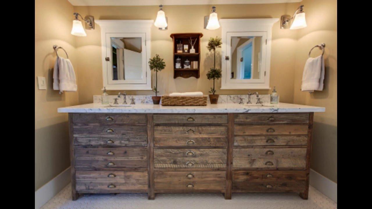 Beautiful Rustic Bathroom Decor Youtube Rustic Looking Bathrooms