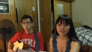 Skyscraper by Demi Lovato (Acoustic Cover by Rosalyn Alejo and Luis Aguilar)