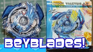 Beyblade Burst Victory Valkyrie BV Review Unboxing