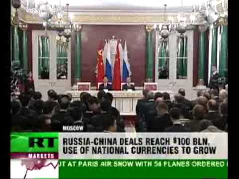 Mega deals and security to link China and Russia - 17 Jun 09