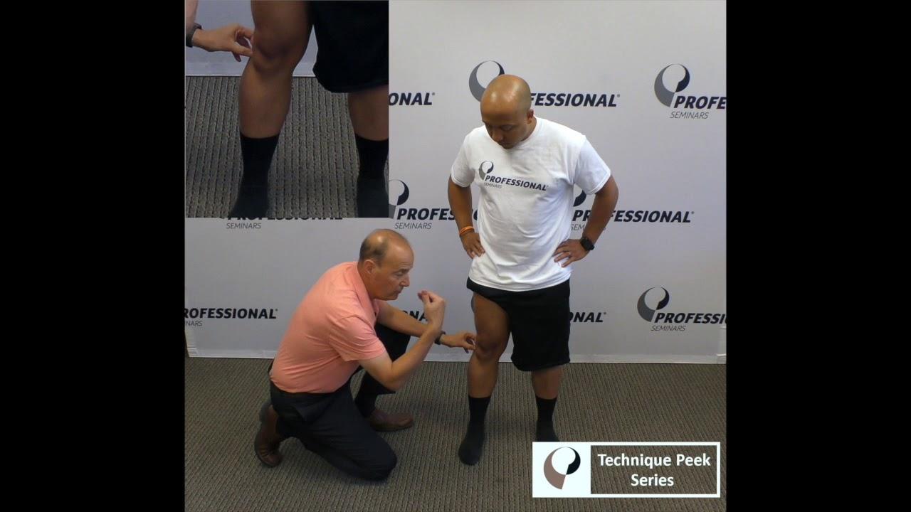 Technique Peek Video– Assessing The Superior Tibiofibular Joint