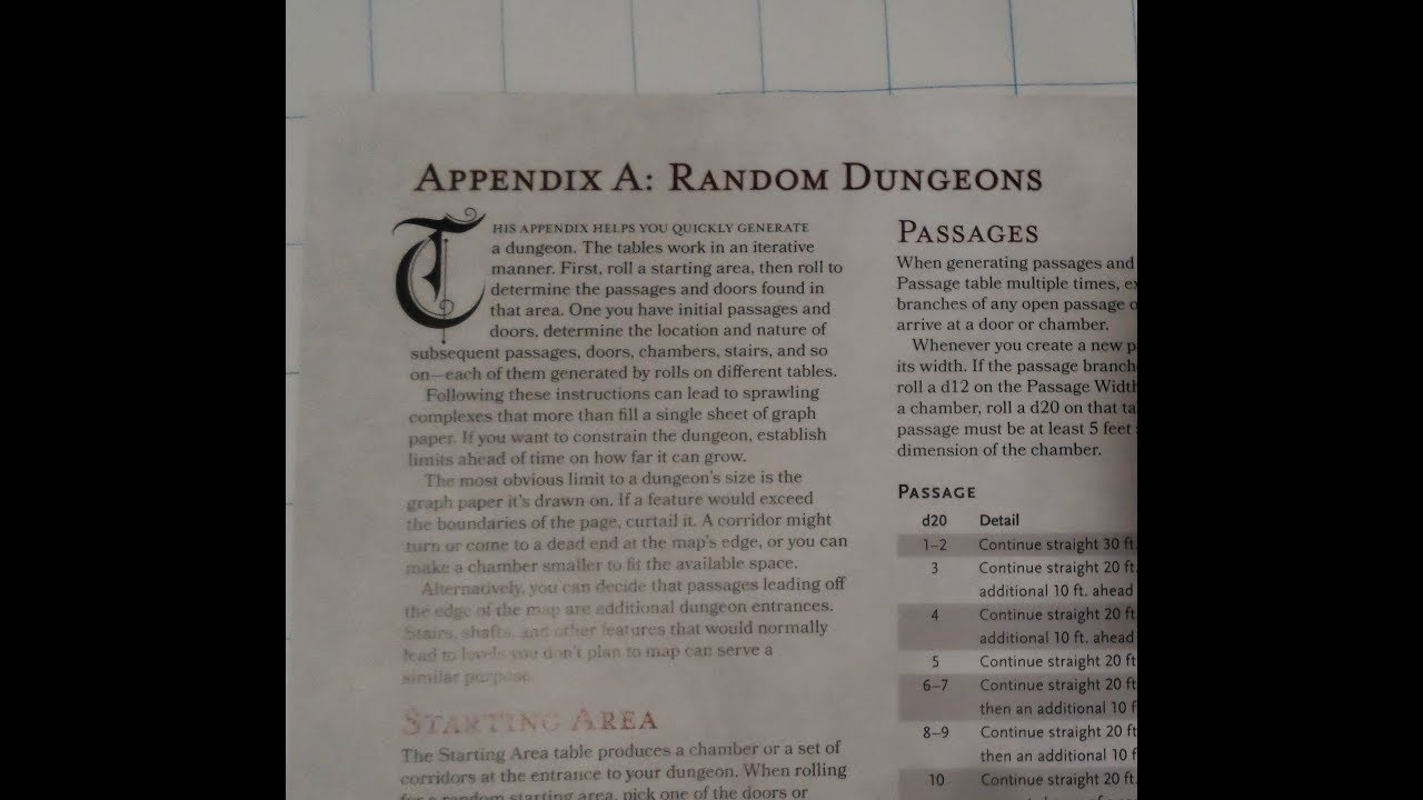 Image result for dmg random dungeon tables
