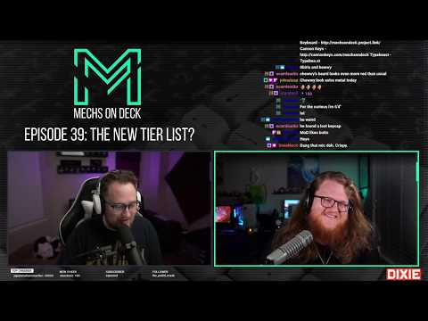 Mechs On Deck Episode 39: The New Tier List?