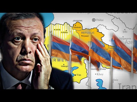 Армянское лобби не дает покоя Эрдогану:  Армянские земли, в лице Западной Армении, на первый план