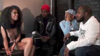 The Skorpion Show Interviews Luke James & Brandy
