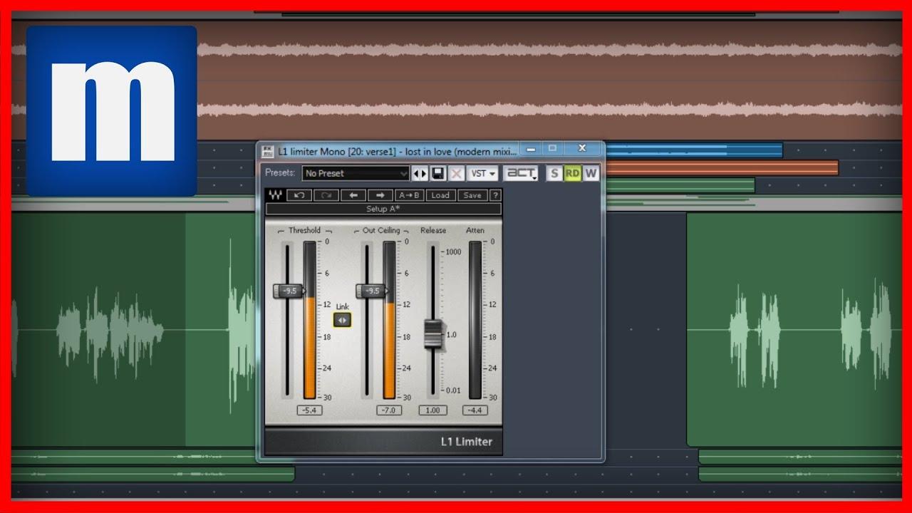 How to Compress Vocals (Limiting) [3/4] - ModernMixing com