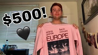 IS ARIANA GRANDE OVERPRICED? | Ariana Grande merch shopping haul 2019