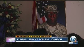 Sergeant Justin Johnson Funeral Service on Saturday