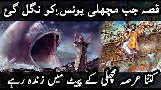 Qissa Yunus AS Aur ٘Machli Ka | Story of Prophet Yunus/Jonah (a) & Fish [Urdu]