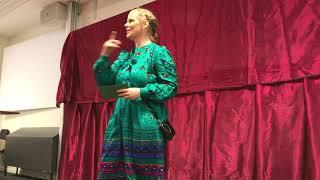 Klara Härgestam: Humor är retoriskt kraftfullt