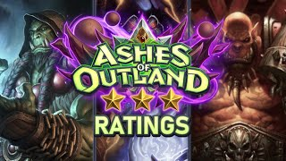 Trump's Ashes of Outland ⭐ Ratings: Shaman / Warlock / Warrior | Hearthstone