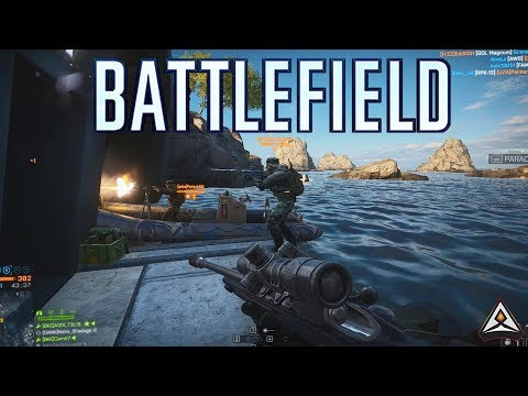 Epic Moments in Battlefield 3 and 4! - Battlefield Top Plays thumbnail