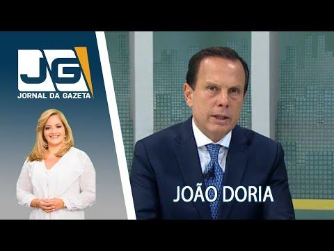 Entrevista Com O Governador De SP, João Doria, Sobre O Primeiro Ano De Mandato
