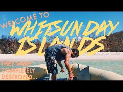 The Whitsundays Were Destroyed 💔 | Travel Vlog | Studying in Australia Vlog #9